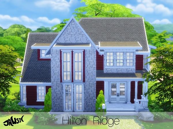 Sims 4 Hilton Ridge by Jaws3 at TSR