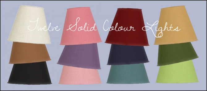 Table lights at Martine's Simblr image 7021 Sims 4 Updates