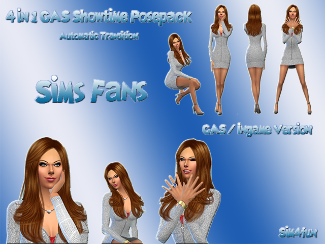 4 in 1 Showtime posepack by Sim4fun at Sims Fans image 7117 Sims 4 Updates