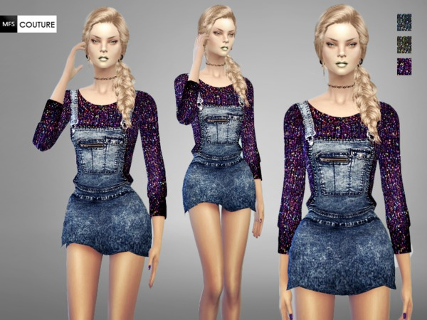 MFS Denim Dungarees by MissFortune at TSR image 720 Sims 4 Updates. MFS Denim Dungarees by MissFortune at TSR   Sims 4 Updates