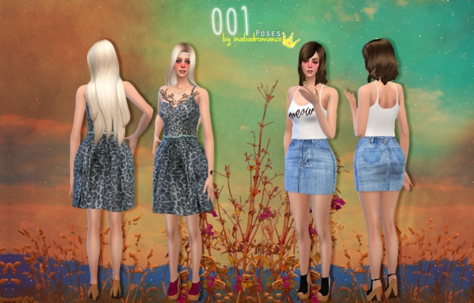 001 Poses at In a bad Romance image 7211 Sims 4 Updates