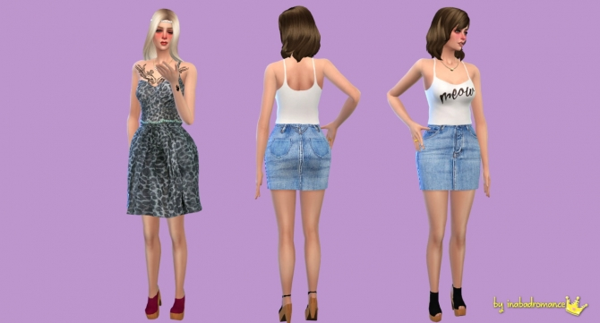 001 Poses at In a bad Romance image 738 Sims 4 Updates