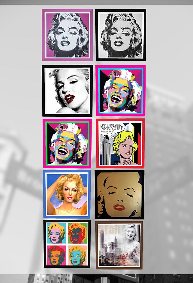 Sims 4 Vintage New York 90s 80s paintings at Splay