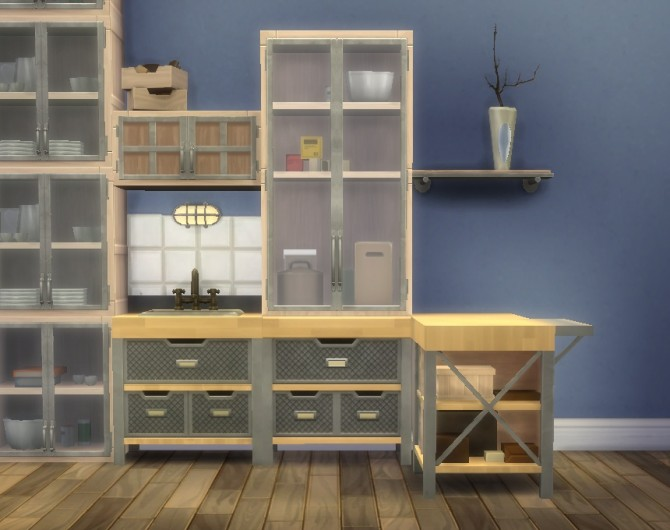 Sims 4 No Drop cabinets Light Fix by plasticbox at Mod The Sims