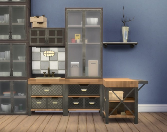 No Drop Cabinets Light Fix By Plasticbox At Mod The Sims