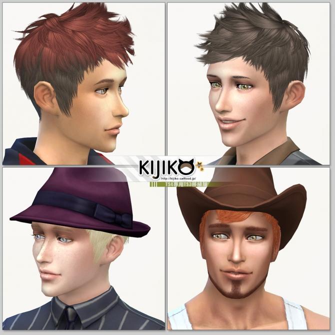 Faux hawk TS3 to TS4 conversion at Kijiko image 8216 Sims 4 Updates