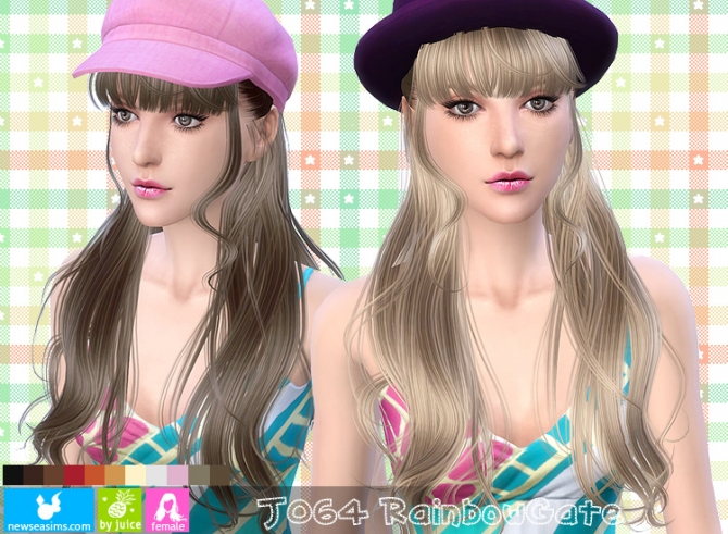 J064 Rainbow Gate hair (Pay) at Newsea Sims 4 image 8318 Sims 4 Updates