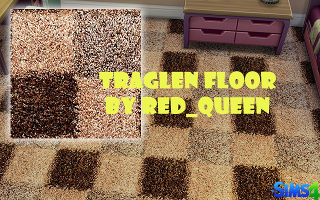 Sims 4 Traglen Floor by Red Queen at ihelensims