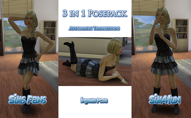 Female 3 in 1 Posepack by Sim4fun at Sims Fans image 8510 Sims 4 Updates
