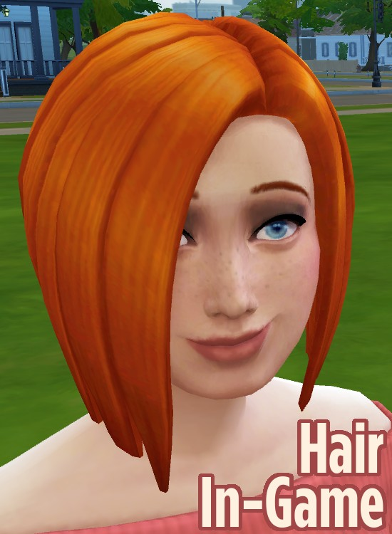 Sims 4 Ginger All The Hairs Female Edition by Caitie at Mod The Sims