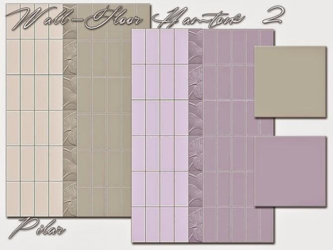 Sims 4 Hamtons 2 set of tiles by Pilar at SimControl