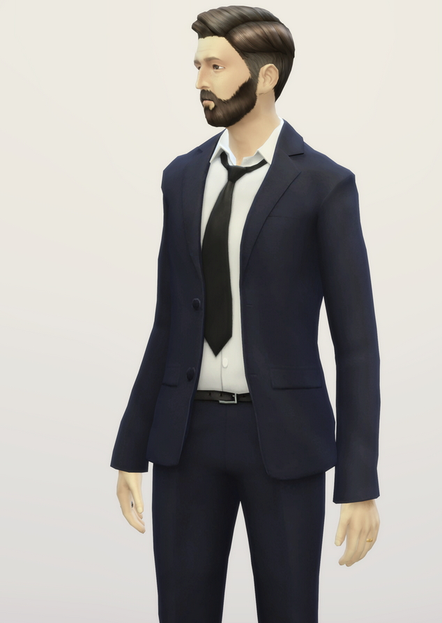 Sims 4 Business suit retouch V2 (duotone) at Rusty Nail