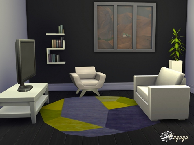 Sims 4 Polygon rugs at Sims Artists