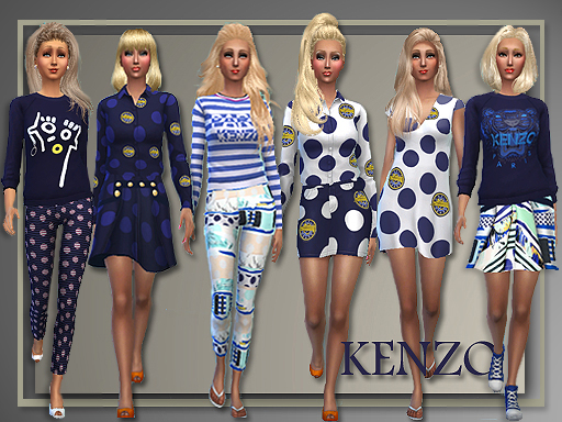 Sims 4 Spring 2015 separates at All About Style