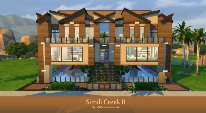 Simili Creek II house by MrDemeulemeester at Mod The Sims image 9215 Sims 4 Updates