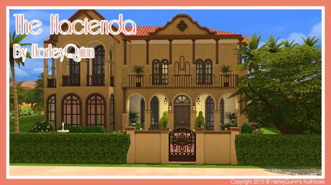 The Hacienda house at Harley Quinn's Nuthouse image 924 670x375 Sims 4 Updates