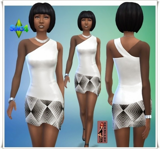 Black & White Party dresses at Annett's Sims 4 Welt image 9317 Sims 4 Updates