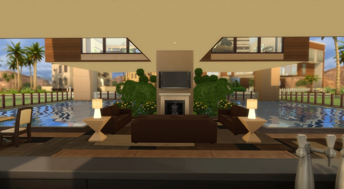 Sims 4 Simili Creek II house by MrDemeulemeester at Mod The Sims
