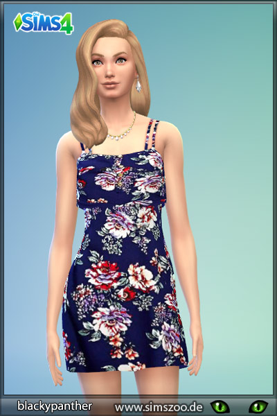 Dress by Blackypanther at Blacky's Sims Zoo image 947 Sims 4 Updates
