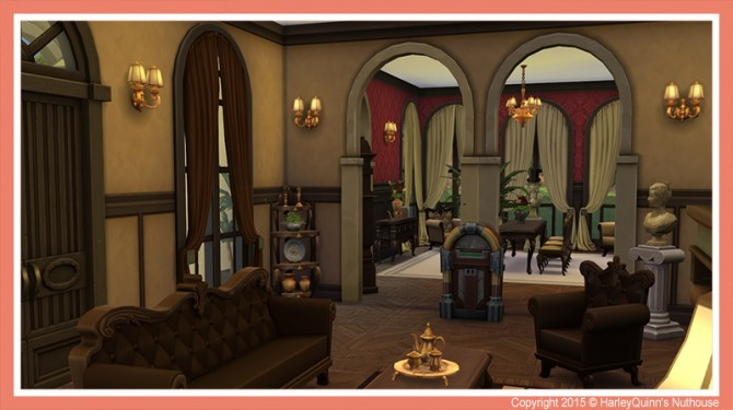 The Hacienda house at Harley Quinn's Nuthouse image 954 670x375 Sims 4 Updates