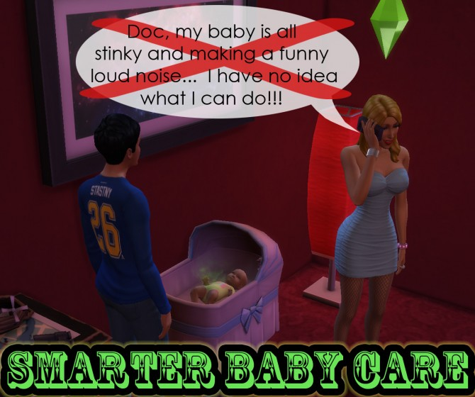 Smarter Baby Care by scumbumbo at Mod The Sims image 962 Sims 4 Updates