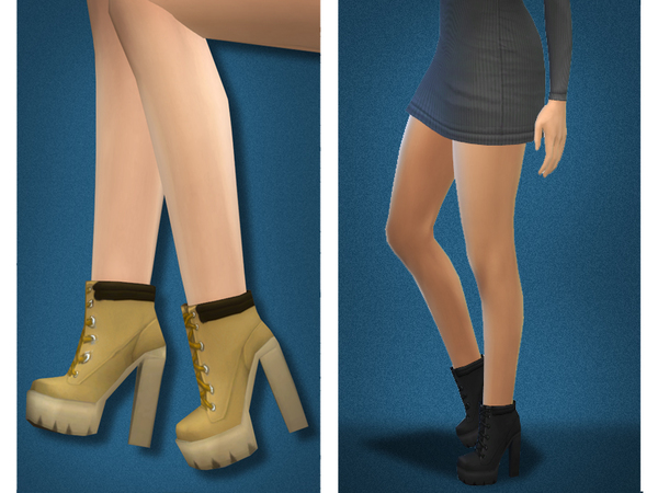 Sims 4 Shoes for femal... Knee High Converse Sneakers