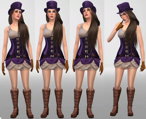 Caitlyn from League of Legends at SIM AGENCY image 9918 Sims 4 Updates