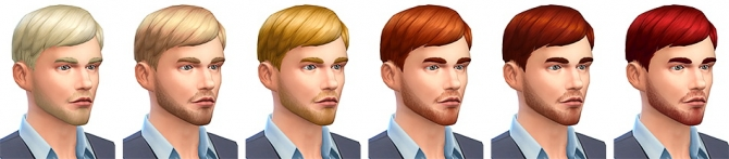 Le Pianiste haircut at Simsontherope image 999 Sims 4 Updates