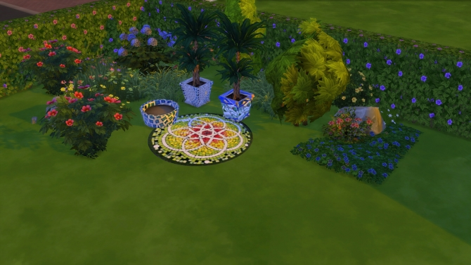 Tiles and mosaics set at El Taller de Mane image 1019 Sims 4 Updates