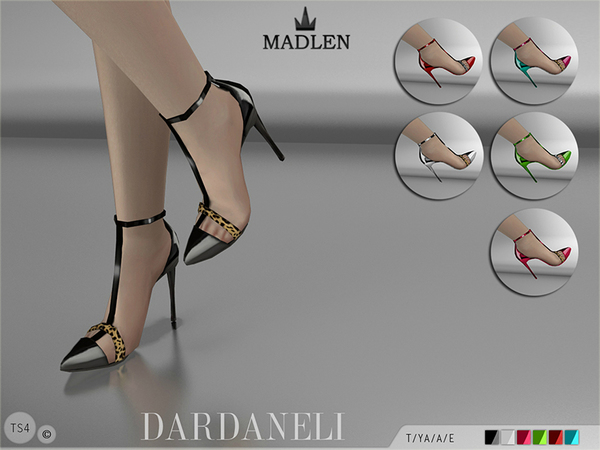 Madlen Dardaneli Shoes by MJ95 at TSR image 102 Sims 4 Updates