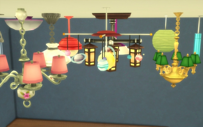 No Fade Ceiling Lights at Fake Houses Real Awesome image 1037 Sims 4 Updates