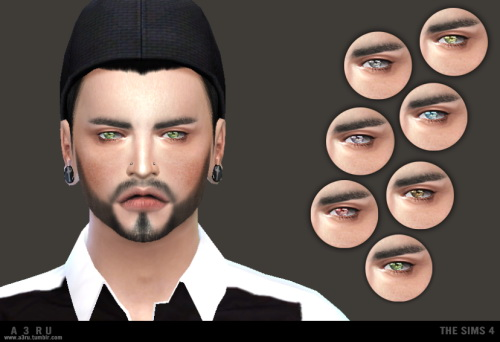 Hide Eyes at A3RU image 1038 Sims 4 Updates