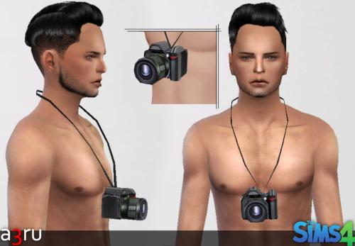 Sims 4 DSLR Camera Accessory at A3RU