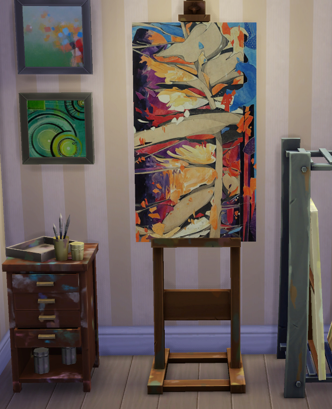 Abstract Paintings Replaced by DaisyTighfield at Mod The