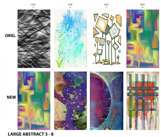 Sims 4 Abstract Paintings Replaced by DaisyTighfield at Mod The Sims