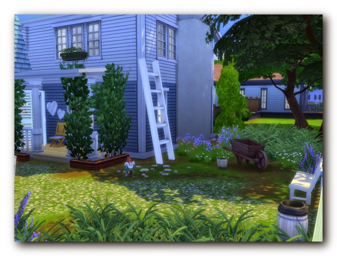 Sims 4 Provencal charm house at Architectural tricks from Dalila