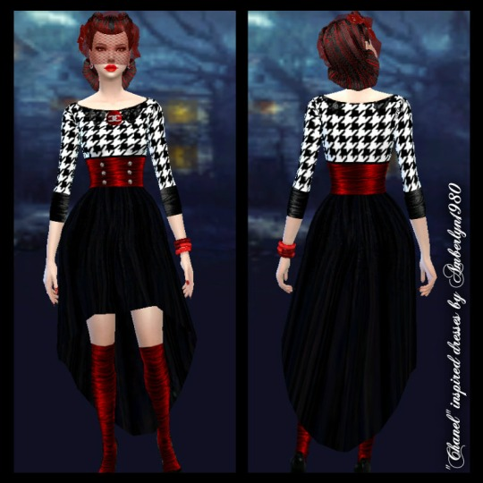 Dress collection part 2 at Amberlyn Designs image 1131 Sims 4 Updates