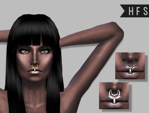 NOSE RING at HAUT FASHION SIMS image 11315 Sims 4 Updates
