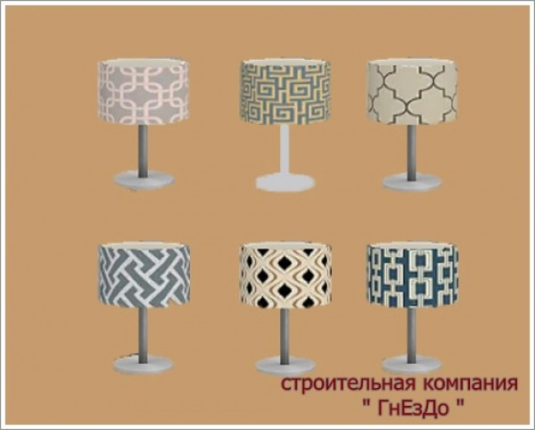 Table Lamp Plug In Chandelier At Sims By Mulena 187 Sims 4