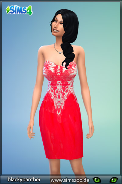 Sims 4 Formal dress 37 by Blackypanther at Blacky's Sims Zoo