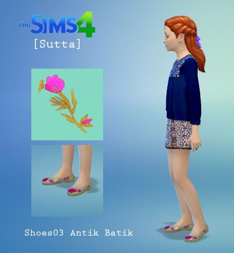 Sims 4 Antik Batik Set1 at Sutta Sims4