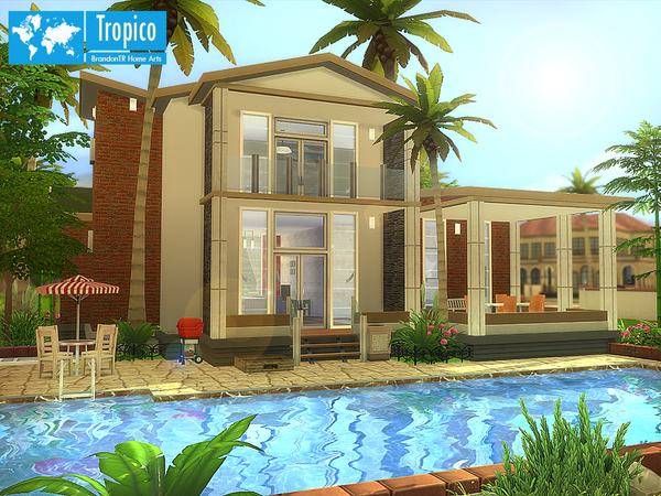 Tropico home by BrandonTR at TSR image 1164 Sims 4 Updates