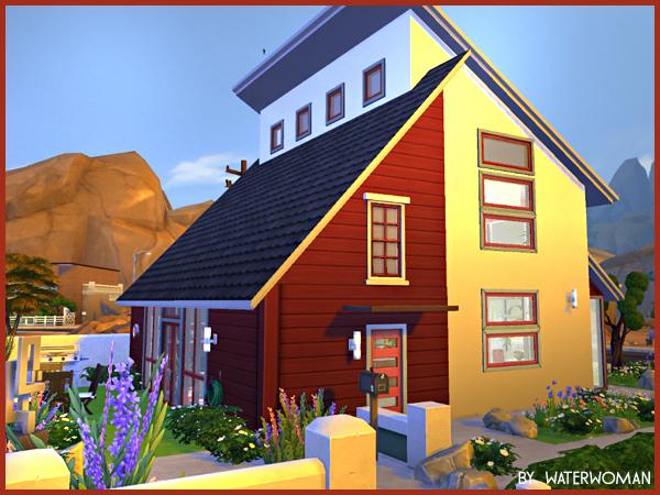 Sims 4 Marple house by Waterwoman at Akisima