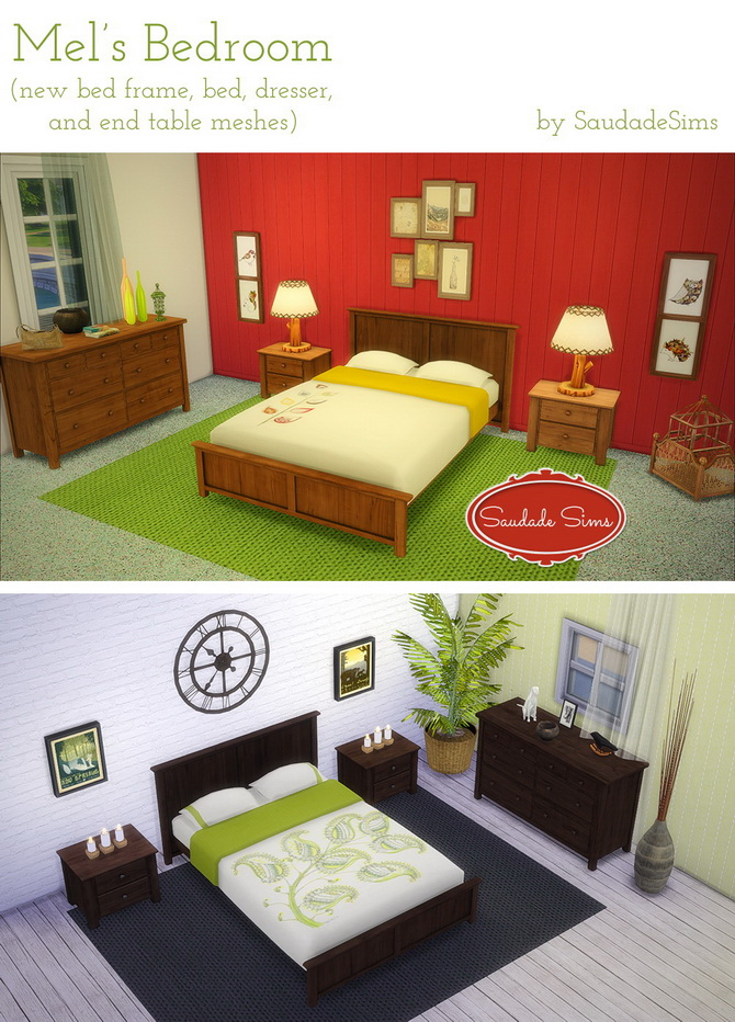 Mel's Bedroom at Saudade Sims image 11715 Sims 4 Updates