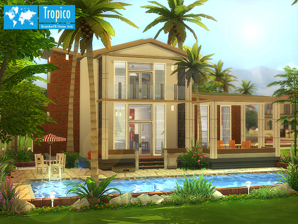 Tropico home by BrandonTR at TSR image 1174 Sims 4 Updates
