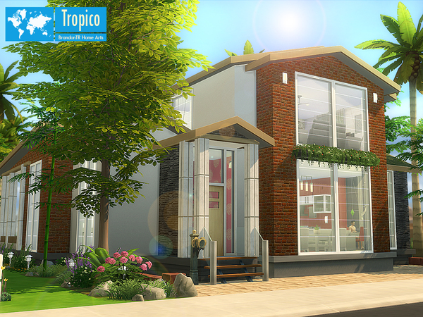 Tropico home by BrandonTR at TSR image 1184 Sims 4 Updates