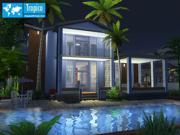 Tropico home by BrandonTR at TSR image 1194 Sims 4 Updates