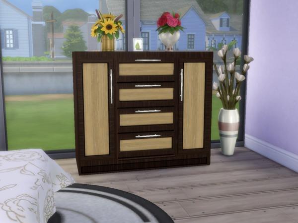 Sims 4 Bedroom Elza by paulo paulol at TSR