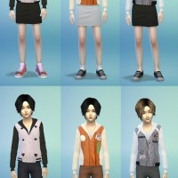 bfly hair k048 no hat at butterfly sims » sims 4 updates