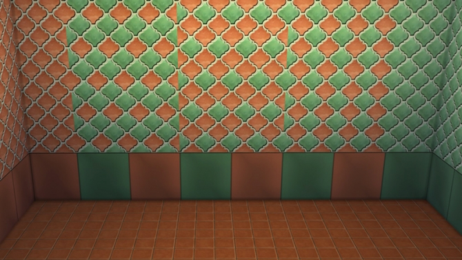Sims 4 Perfect Body Tile set by Maruska Geo at Maruska Geo